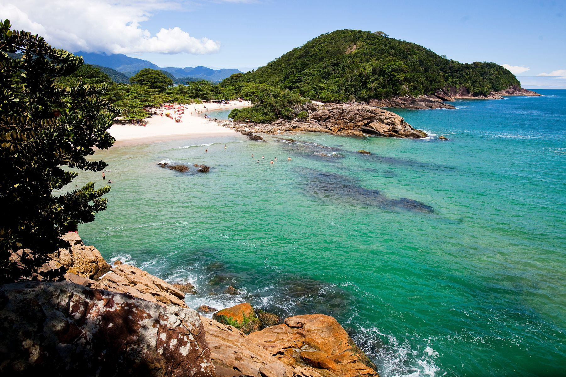 Países más grandes: Playa de Brasil