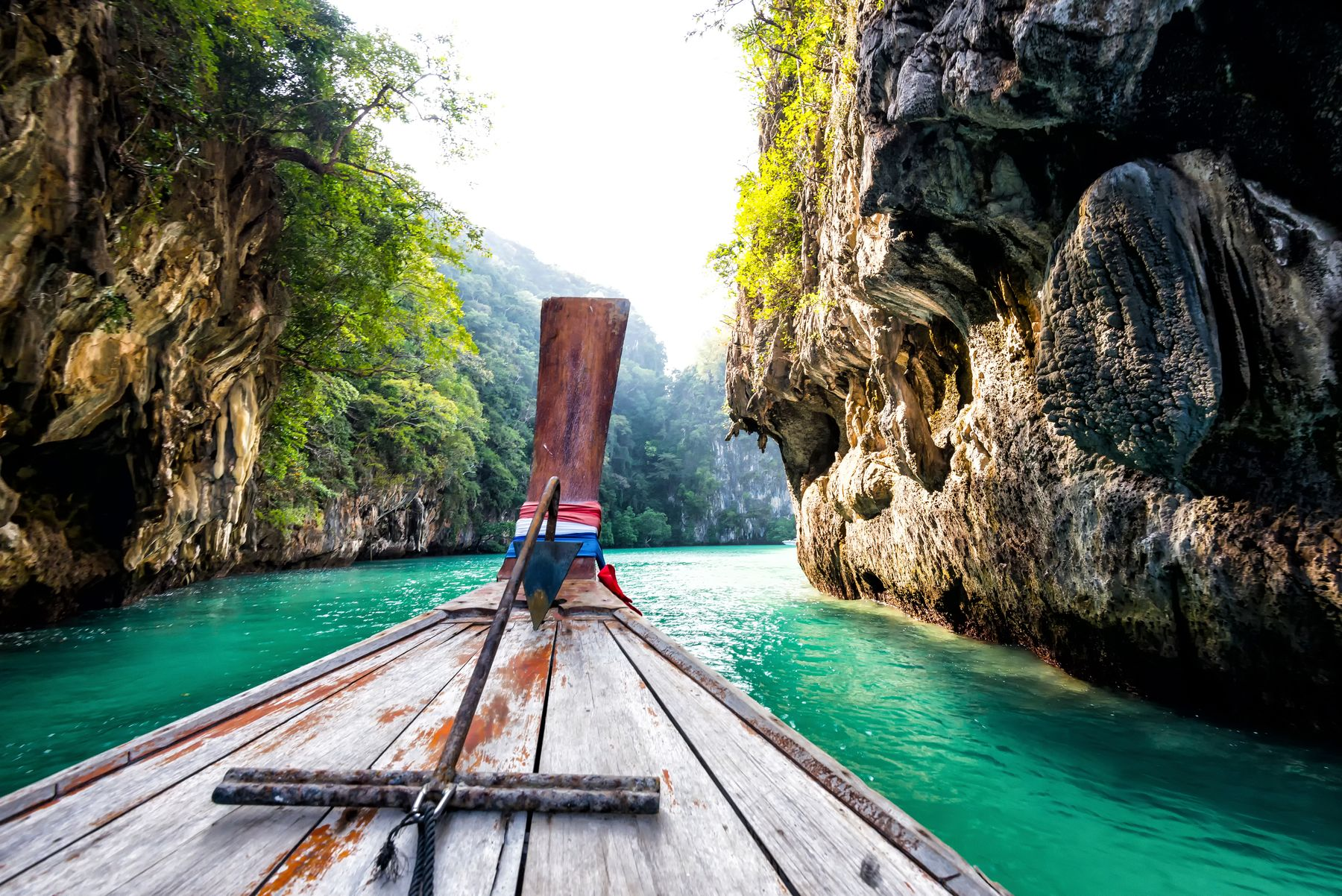 long boat in southern Thailand