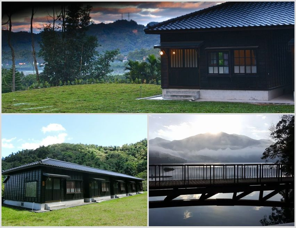 日月潭明宿為訪客營造木質香氣的舒適氛圍