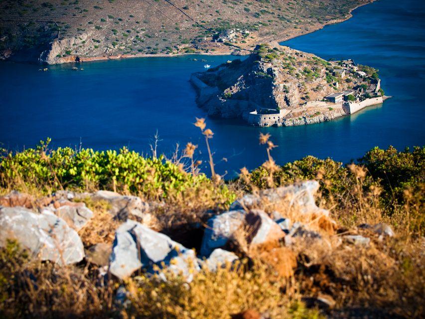 Die malerischsten Orte auf Kreta: Insel Spinalonga, Lasithi (Lybisches Meer)