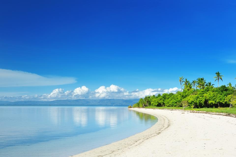 beautiful beach at cebu