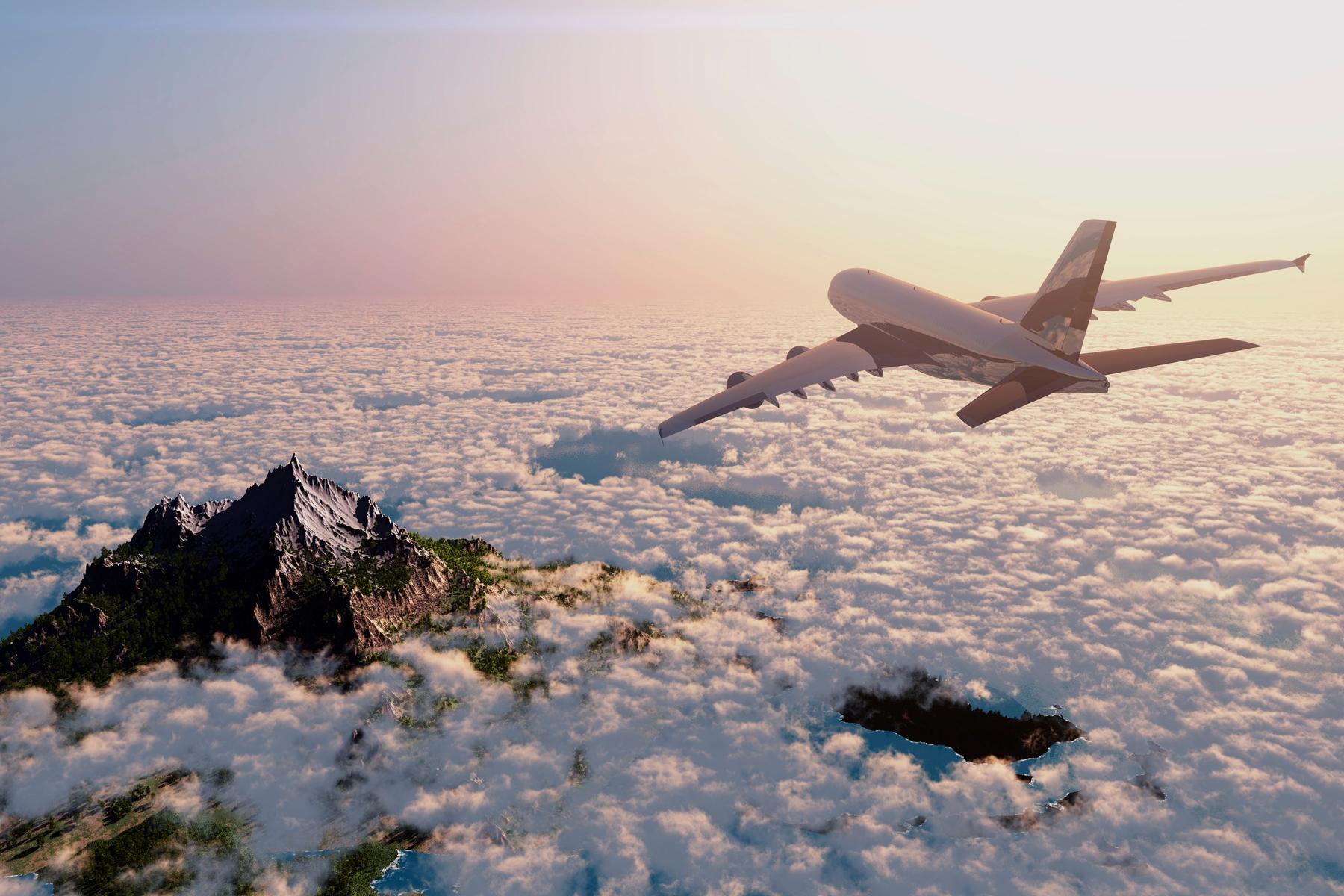 Reizen met het vliegtuig tijdens het coronavirus