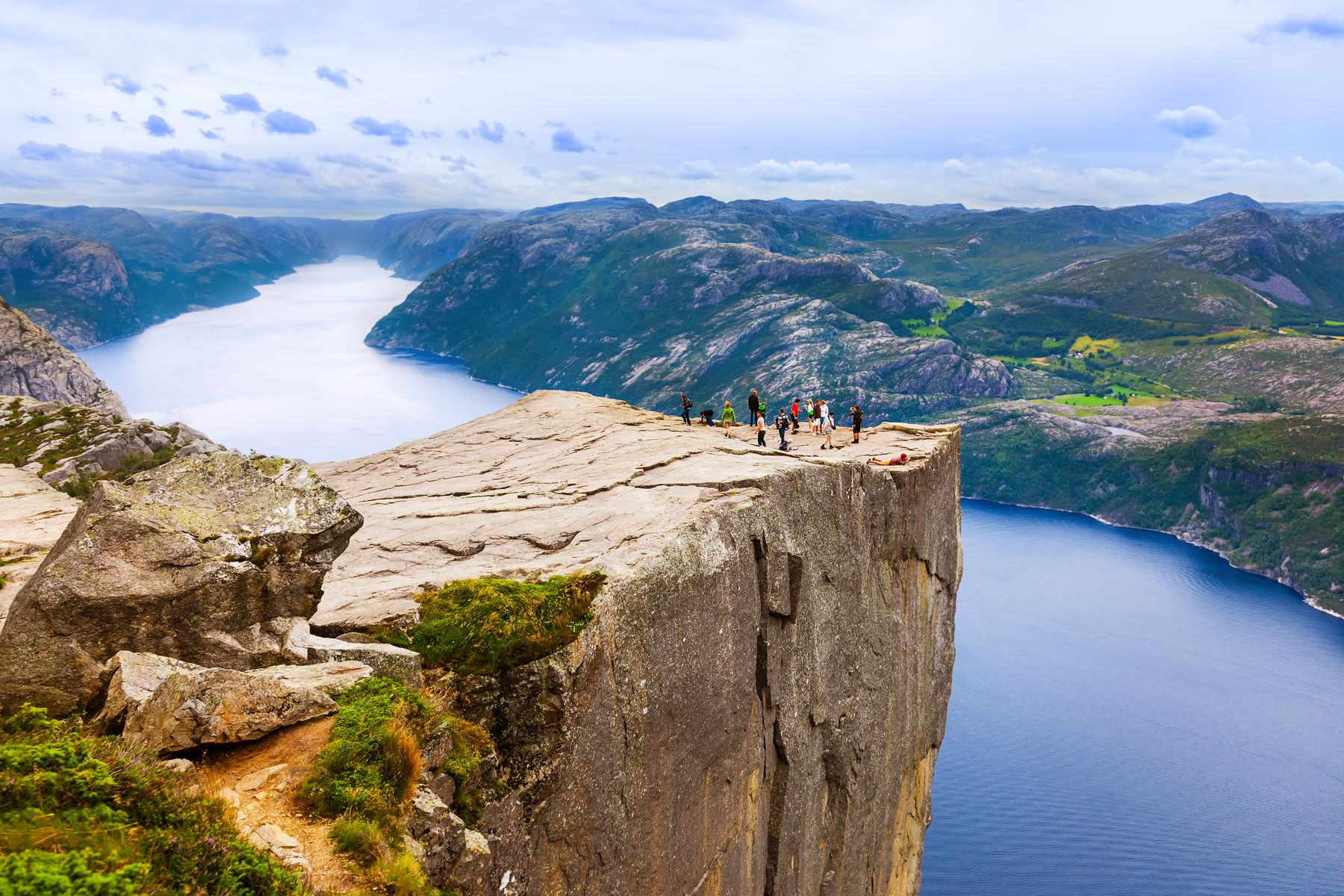 epic landscape of Norway fjord ecotourism destination