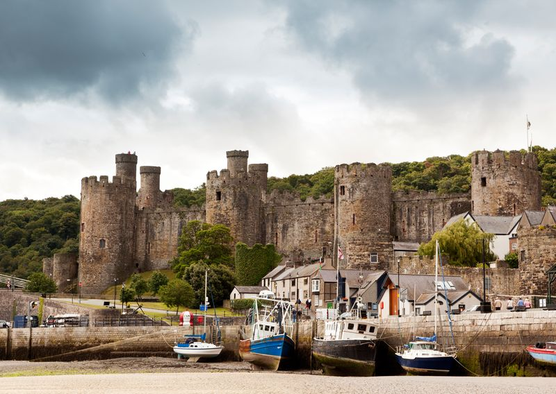 Il castello di Conwy