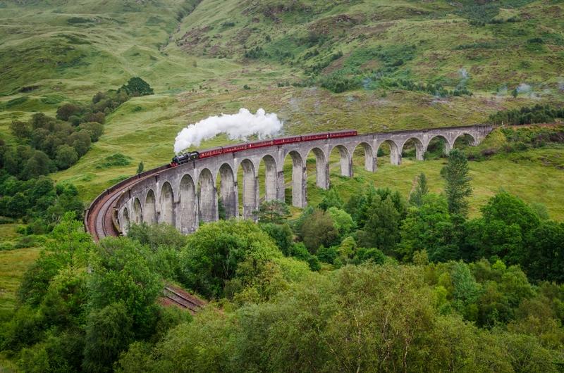 Harry Potter Bridge, Scotland