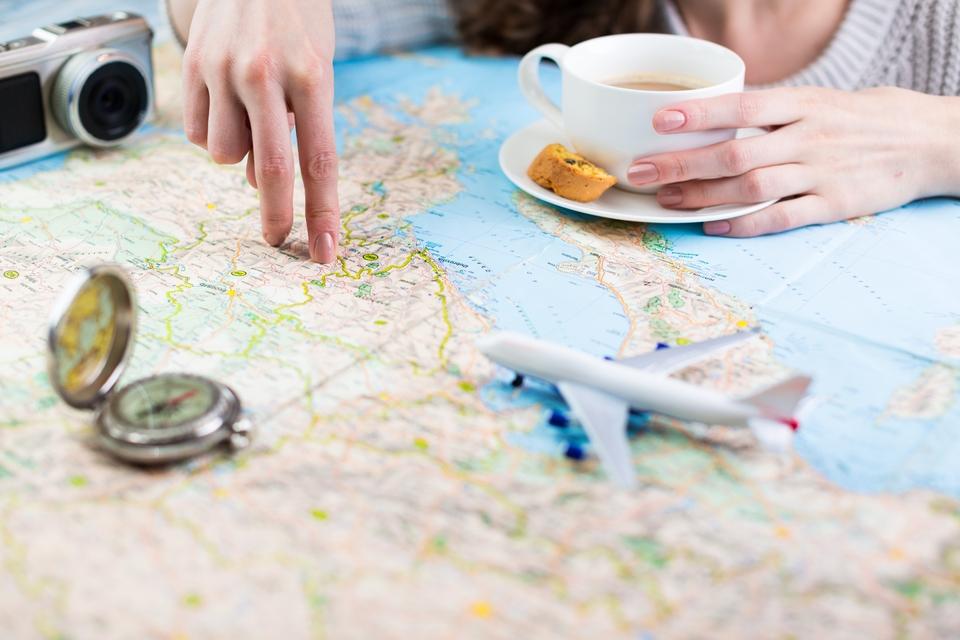Tenha uma lista com os seus destinos preferidos