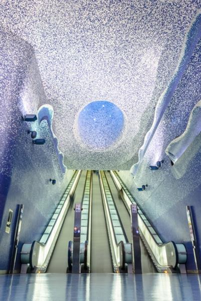 ナポリの地下鉄