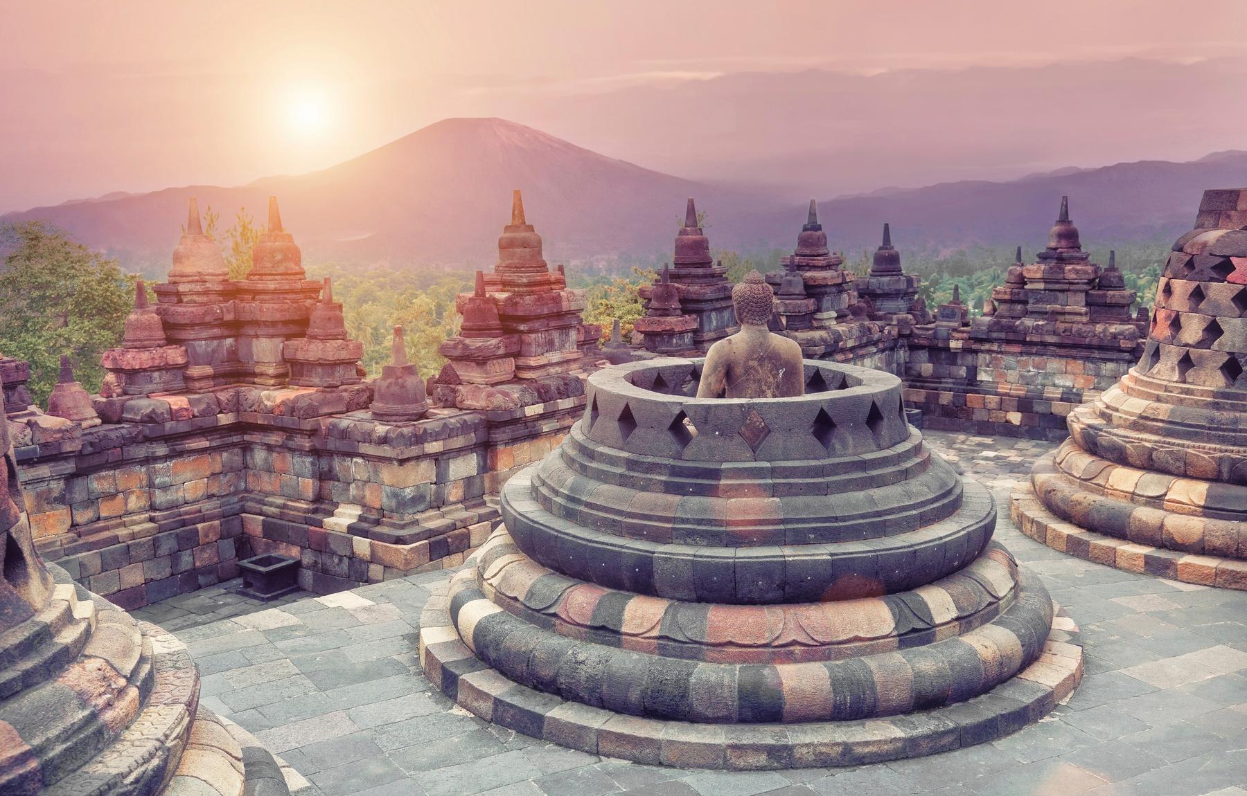 Yogyakarta, UNESCO Weltkulturstätte in Indonesien