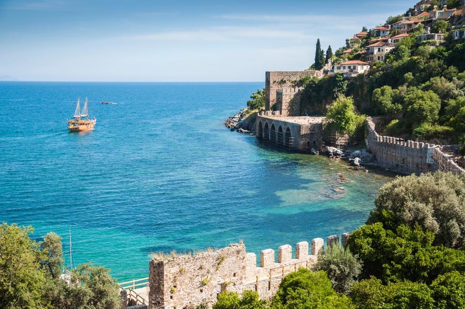 Alanya i Turkiet