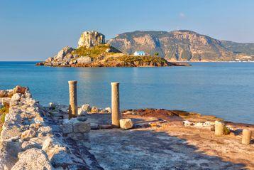 Aghios Stephanos Beach and church ruins, Kos