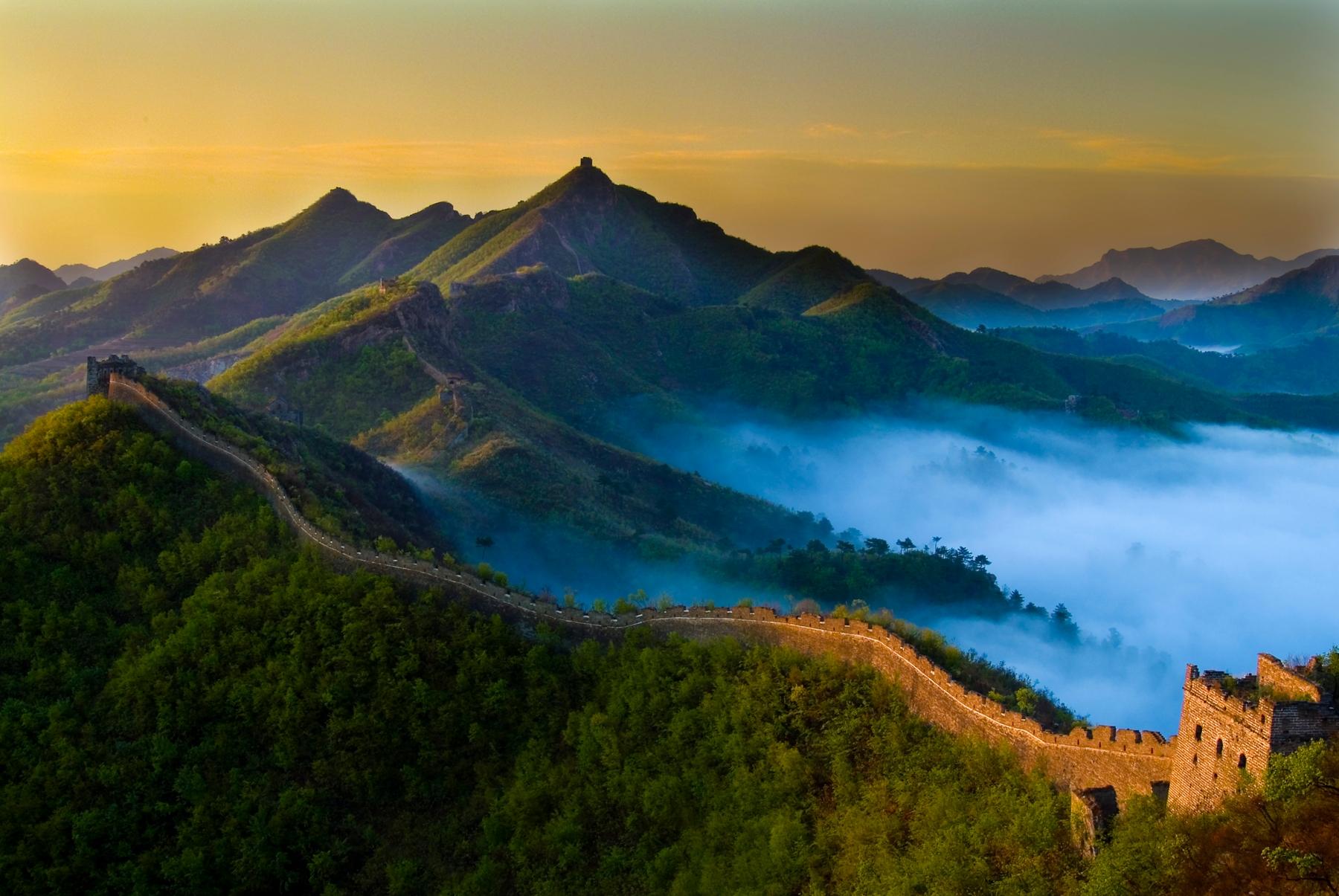 Grande Muralha da China, uma das Maravilhas do Mundo Moderno