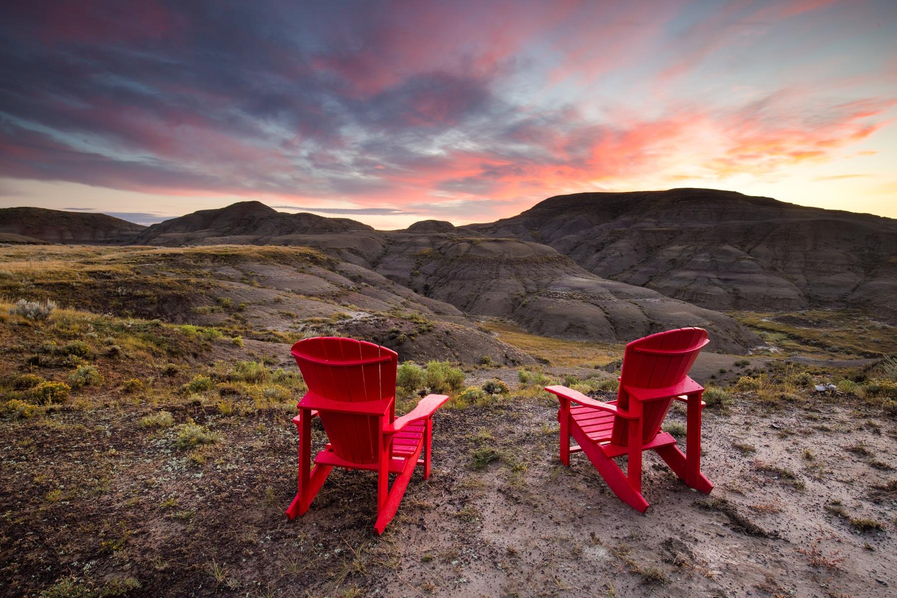 Valley of 1000 Devils, Grasslands National Park, Canada