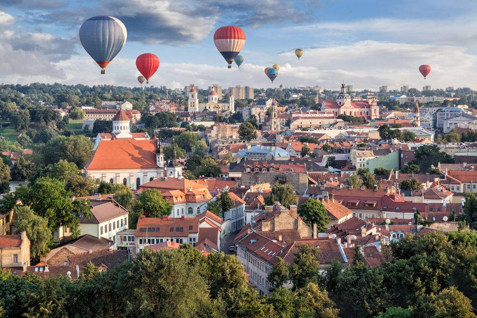 Αερόστατα πάνω από το Βίλνιους - εναλλακτικά ταξίδια στην Ευρώπη