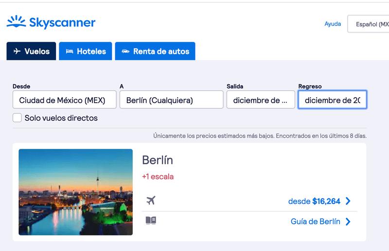 ciudades baratas de europa vuelos berlin