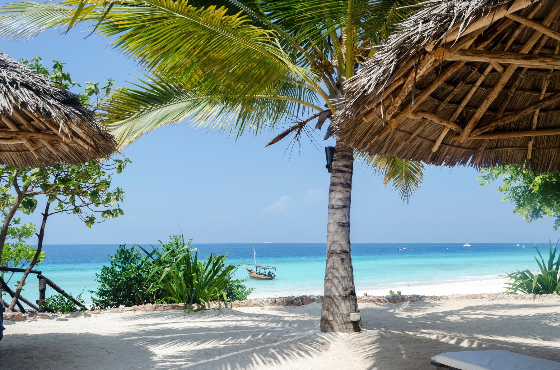 Beach eastern coast of Africa