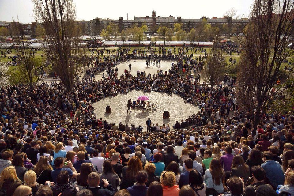 Flight deals to Europe: Mauerpark Berlin