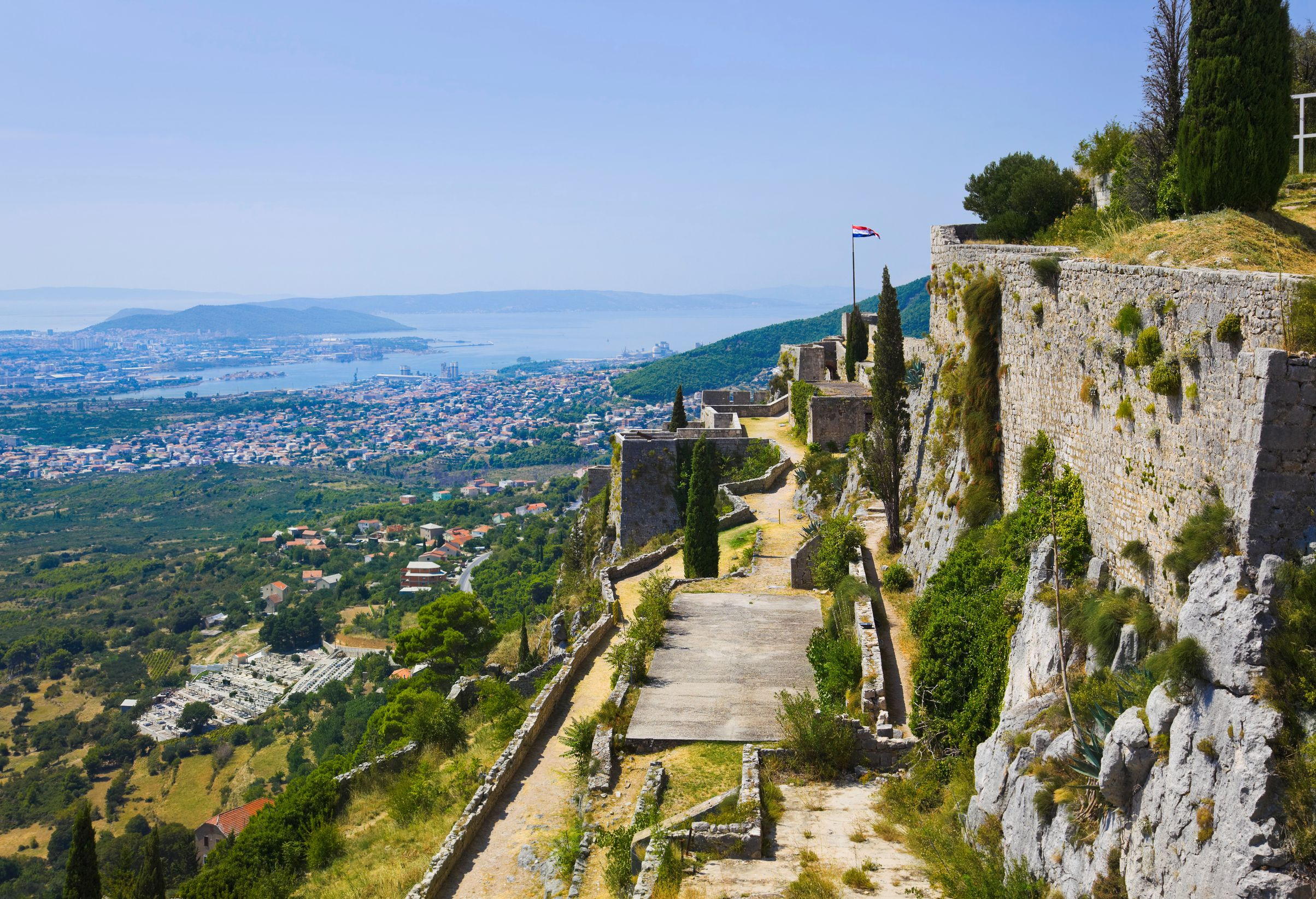 Beaches and mountainous cliffs make Split, Croatia, one of the best cities to visit in central Europe.