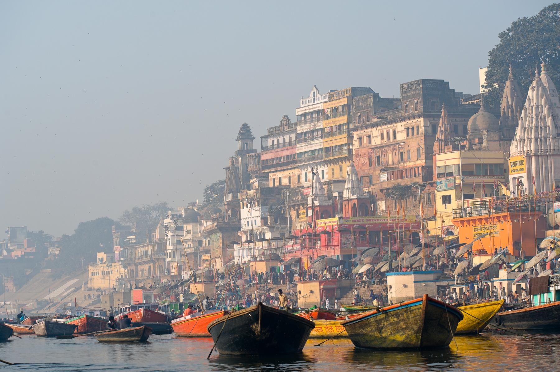 Недорогие билеты в Индию: древний город Варанаси