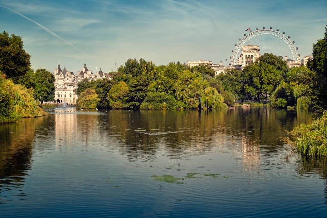 Regents Park, Londra - romantik Kurban Bayramı tatili