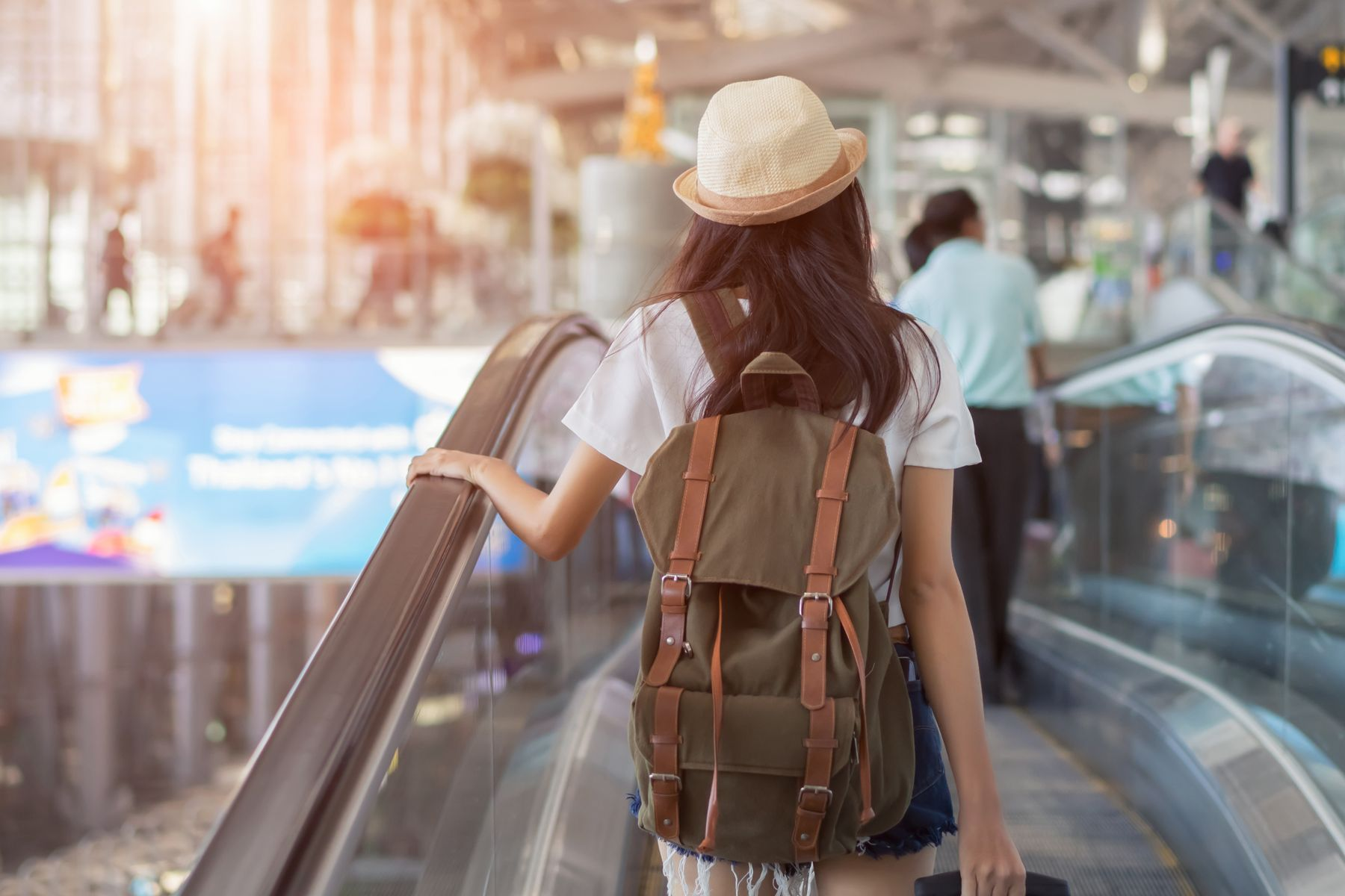 乘客在機場