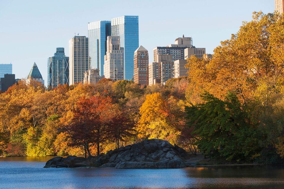 To Central Park της Νέας Υόρκης το φθινόπωρο