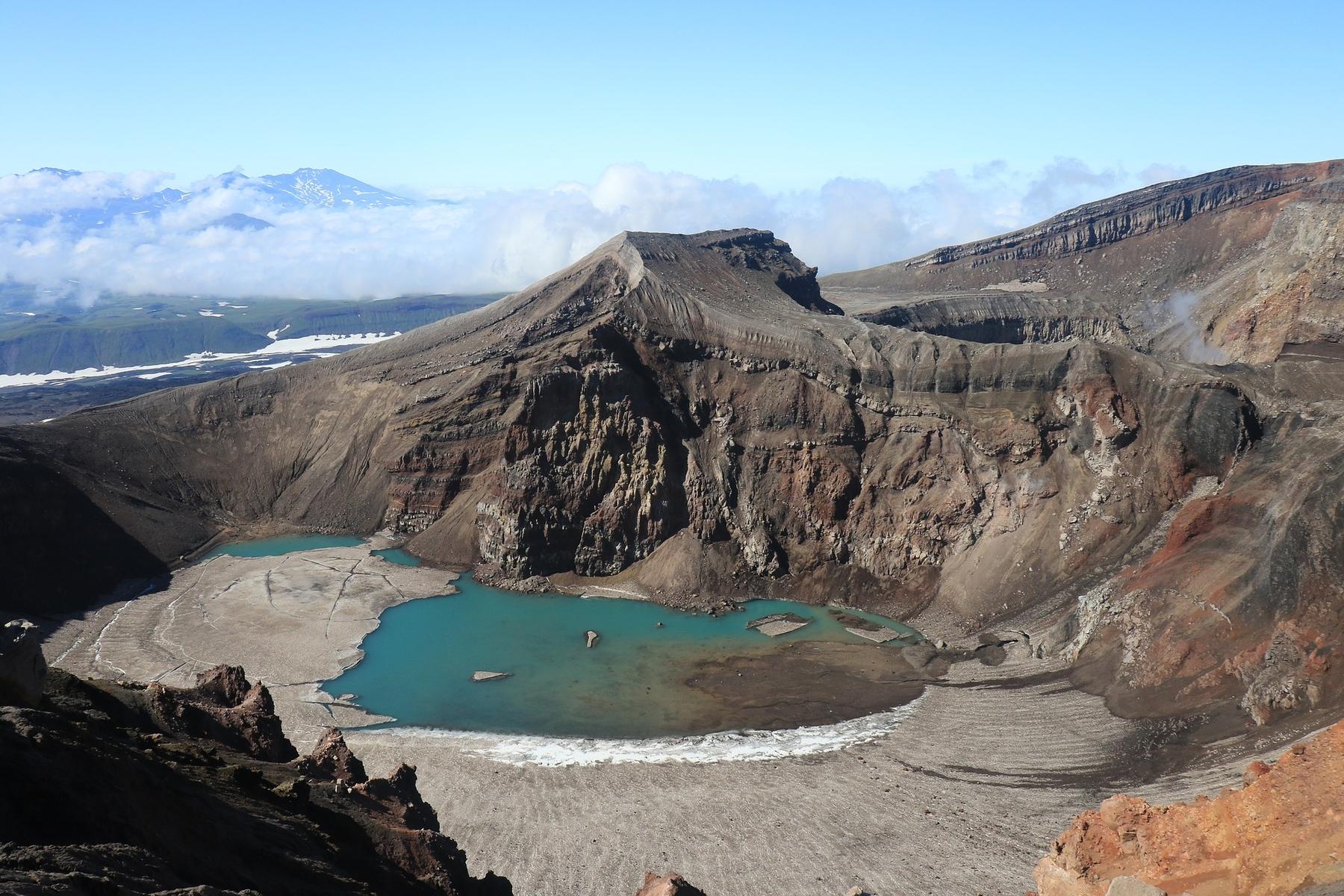 Ключевые достопримечательности Камчатки: вулкан Горелый