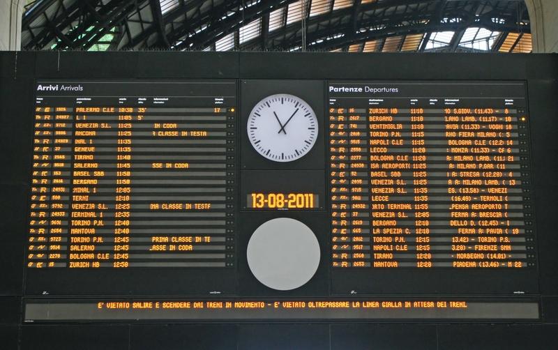 海外旅行 時刻表