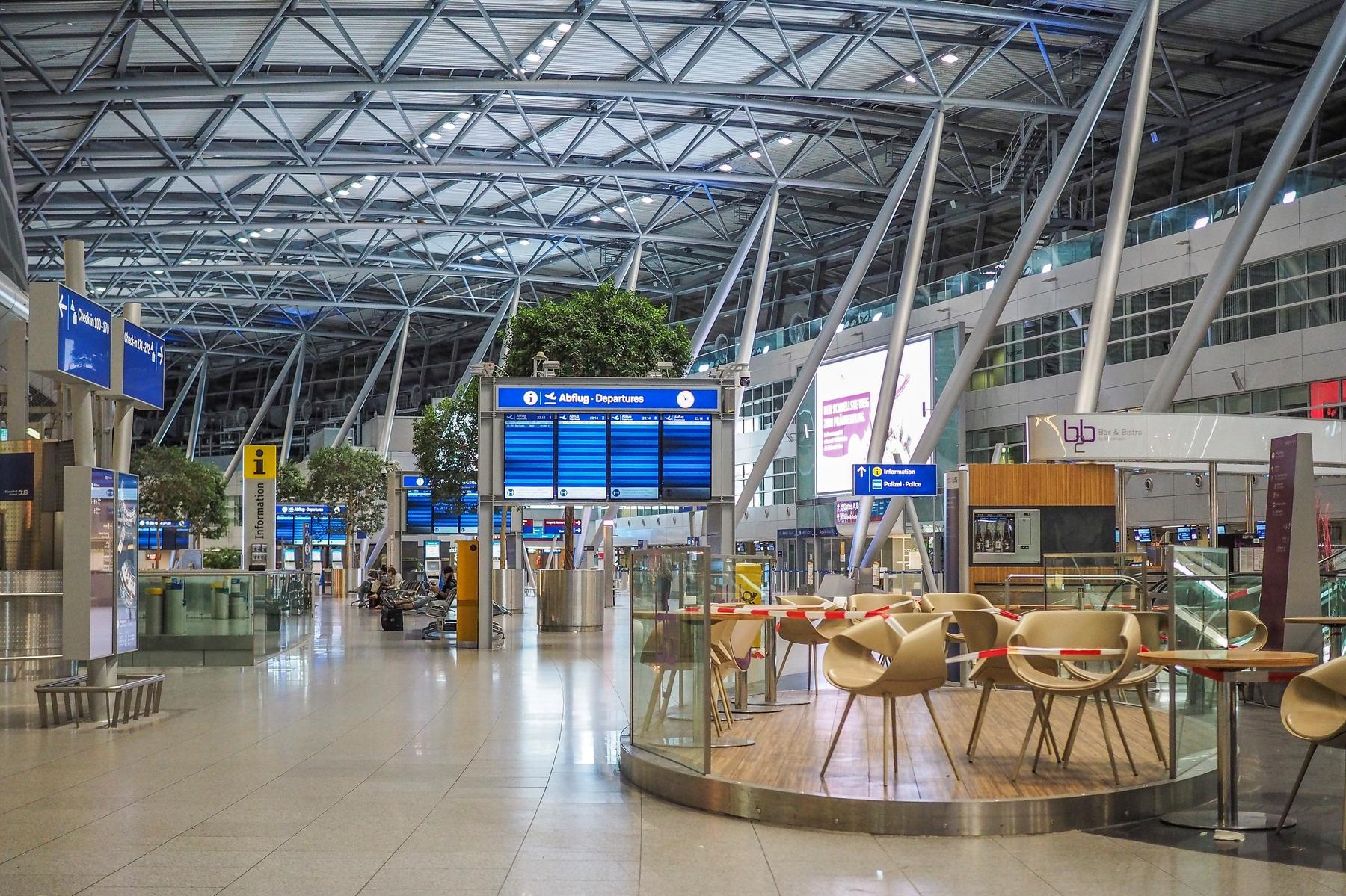 Flughäfen in Coronazeiten