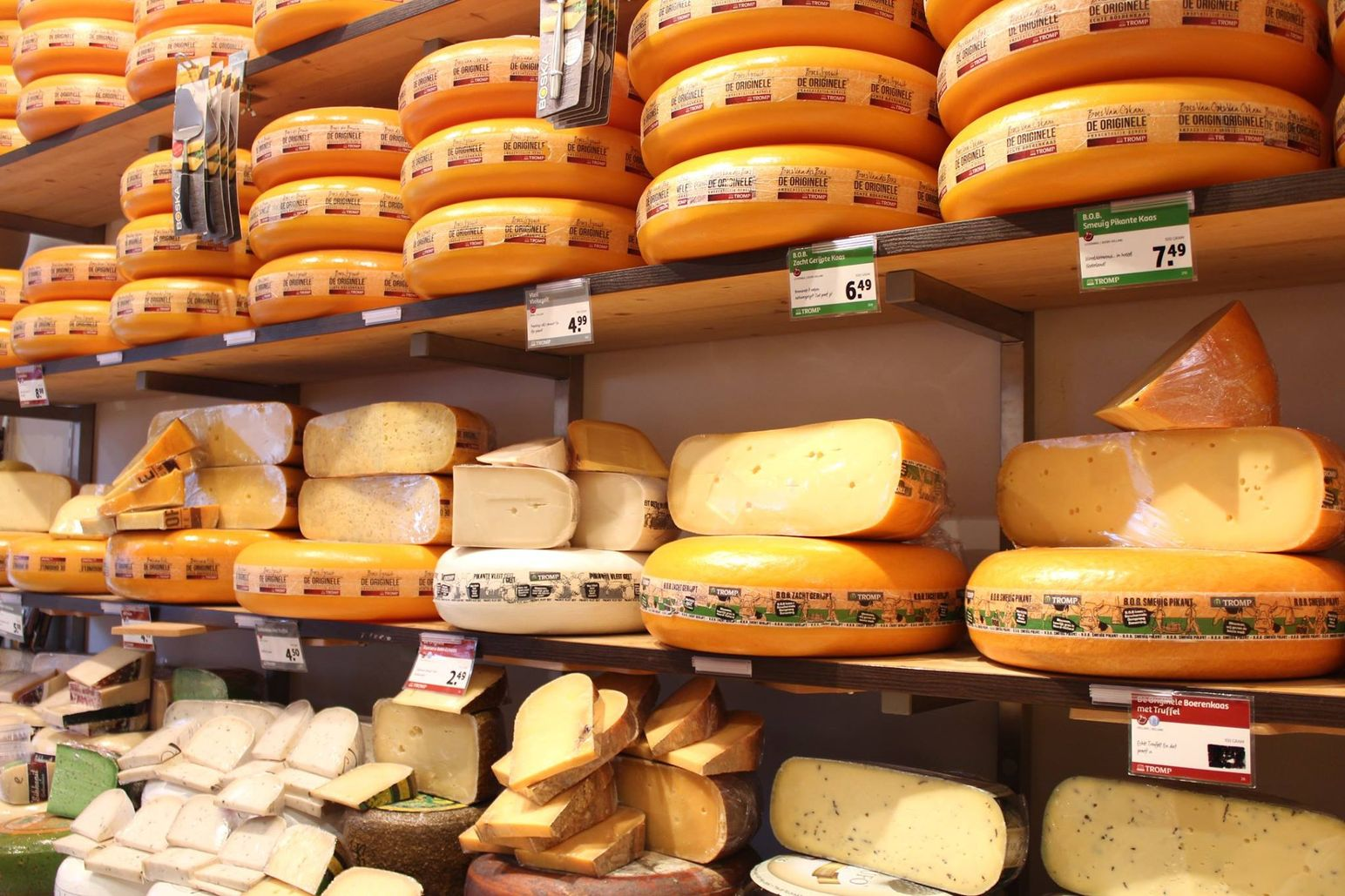 Have some Dutch cheese in Amsterdam