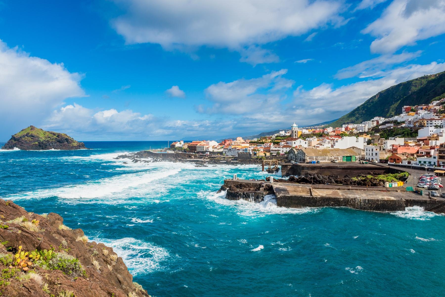 Los 20 pueblos costeros más bonitos de España: Garachico