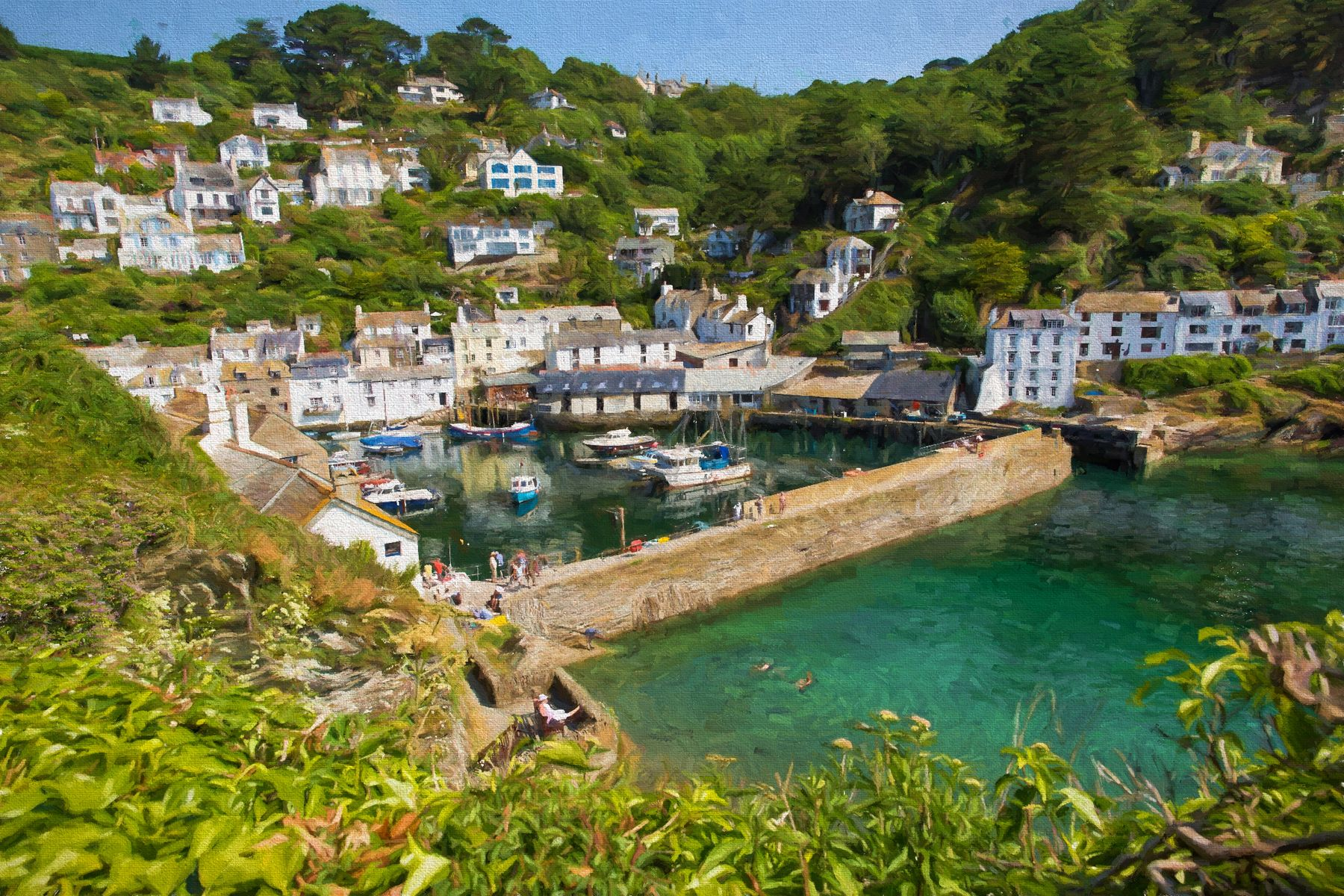 Polperro is one of the best coastal villages in England