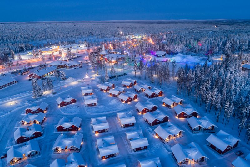 サンタクロース村 ラップランド(フィンランド)