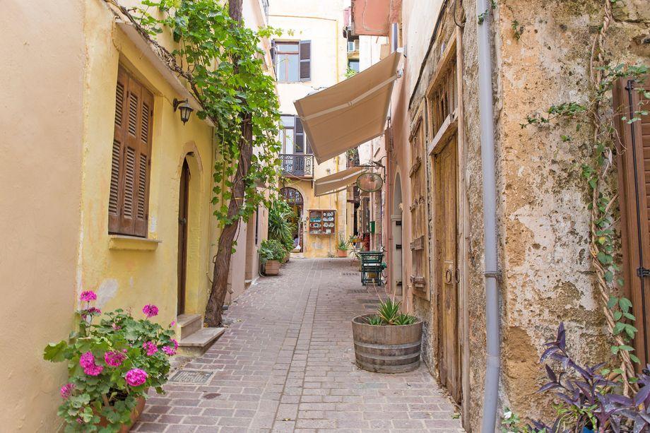 Die malerischsten Orte auf Kreta: Altstadt von Chania, Region Chania