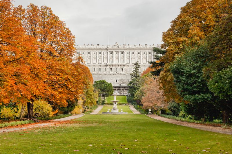 Jardines del Campo del Moro i Madrid