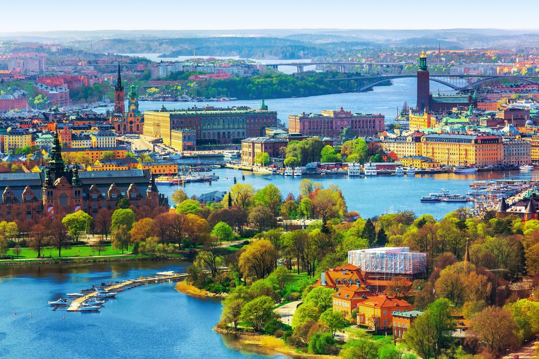 Aεροφωτογραφία της Στοκχόλμης - τοπ 20 φθινοπωρινοί προορισμοί
