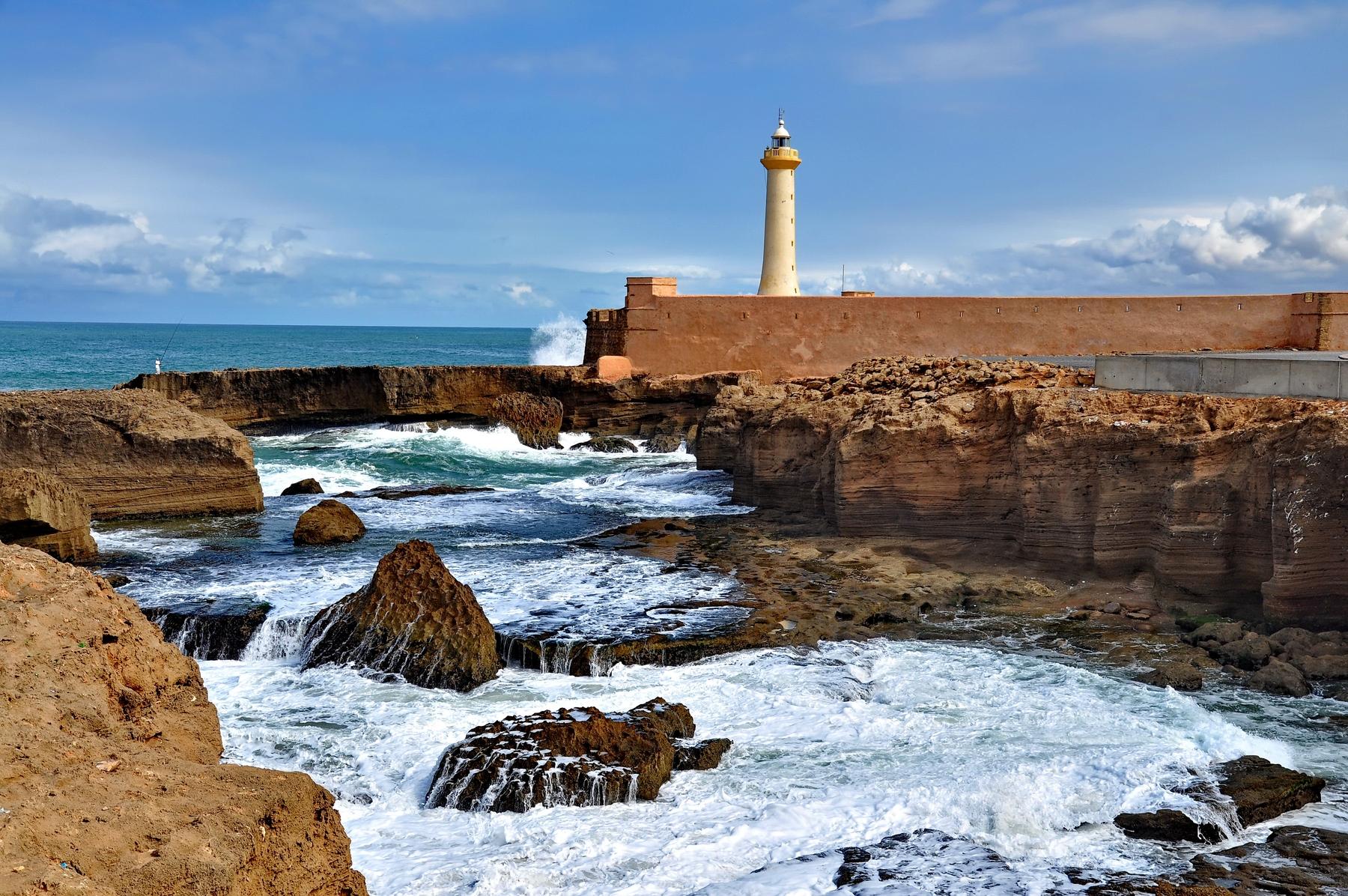 coastline in Morocco