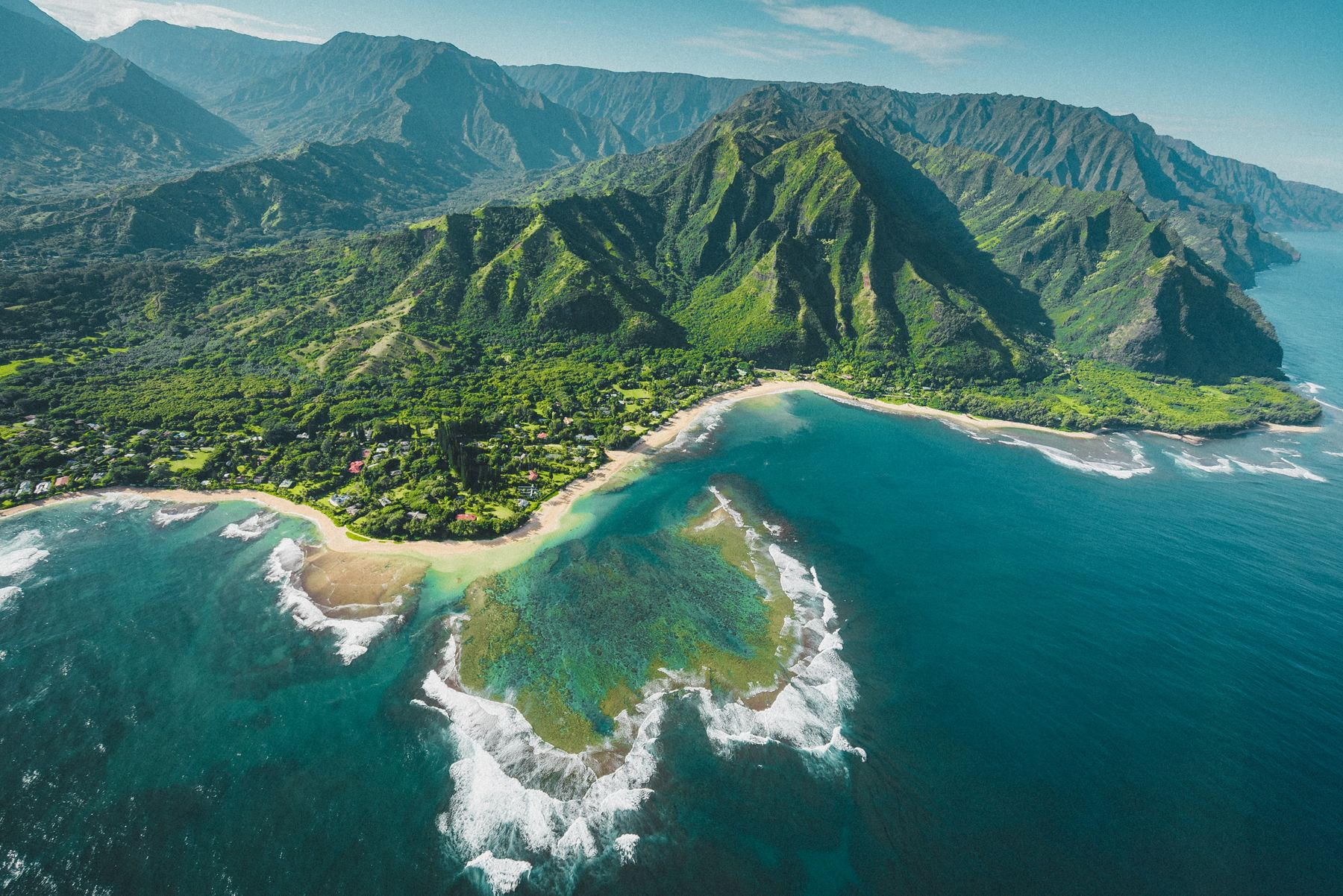 Hawaii is a great destination to explore on a multi flights trip