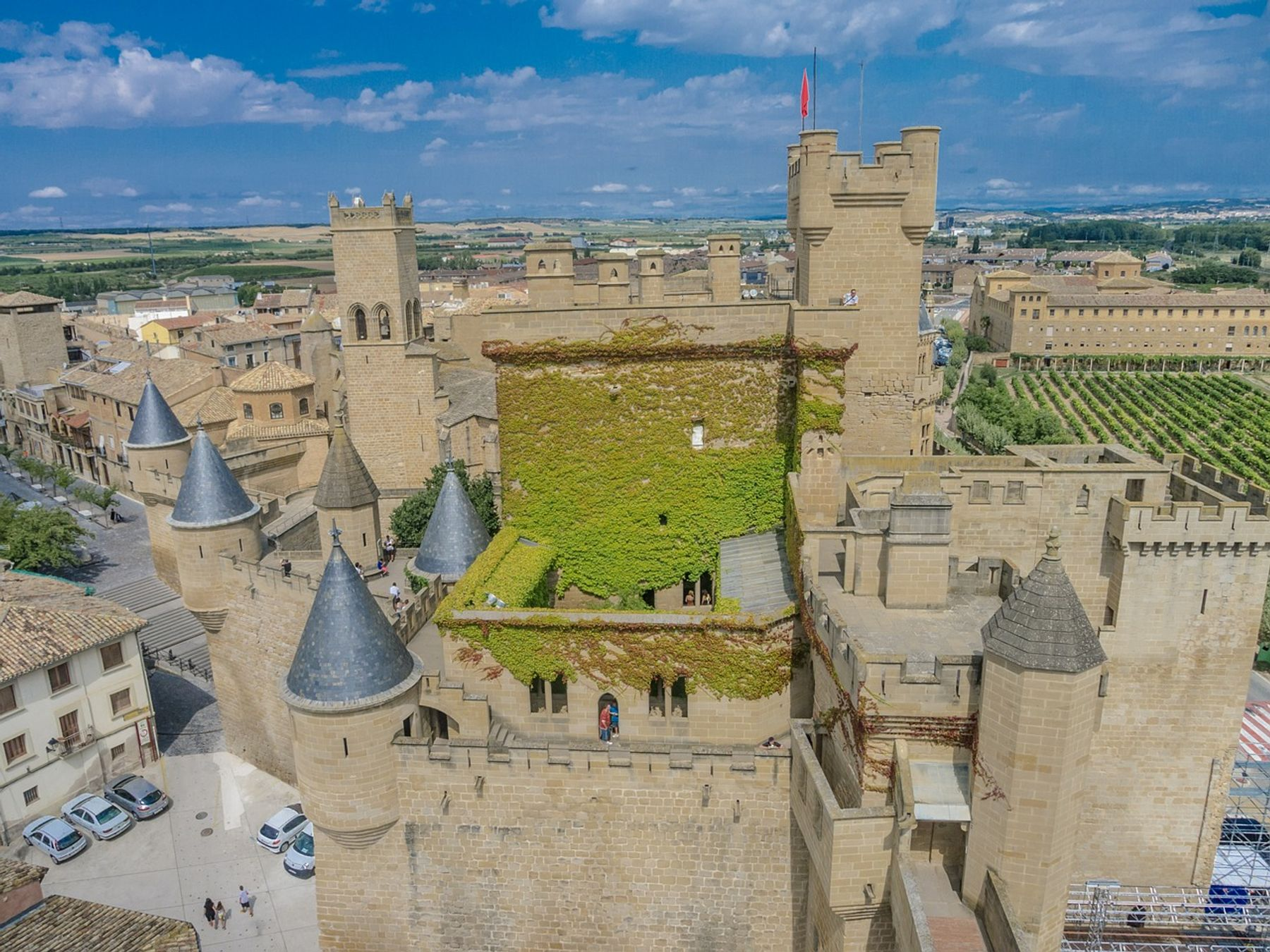 Olite Navarra puebos con encanto de España