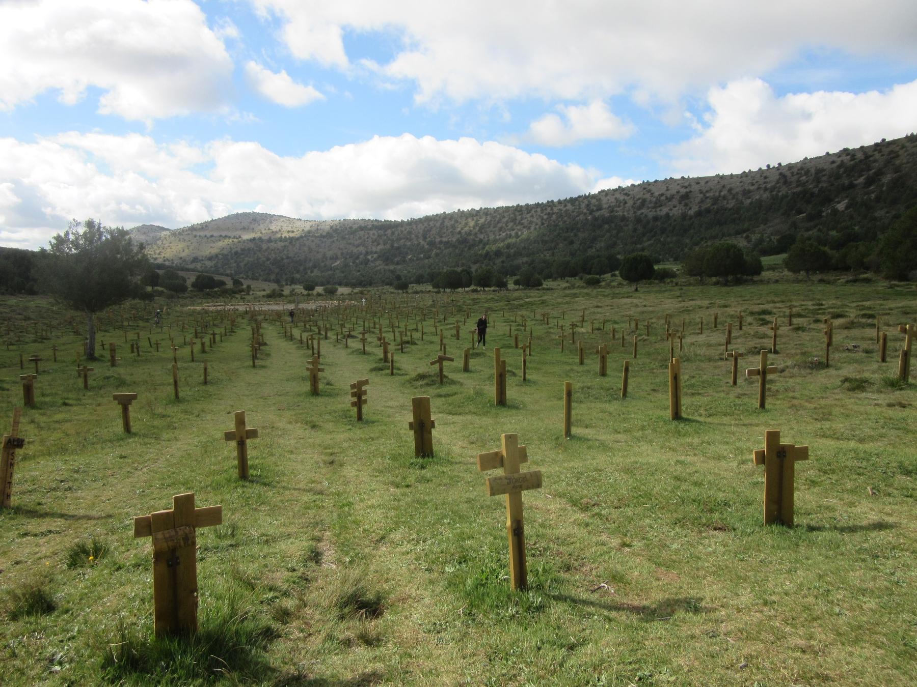 Cementerio de Sad Hill Burgos lugares más originales a los que viajar España