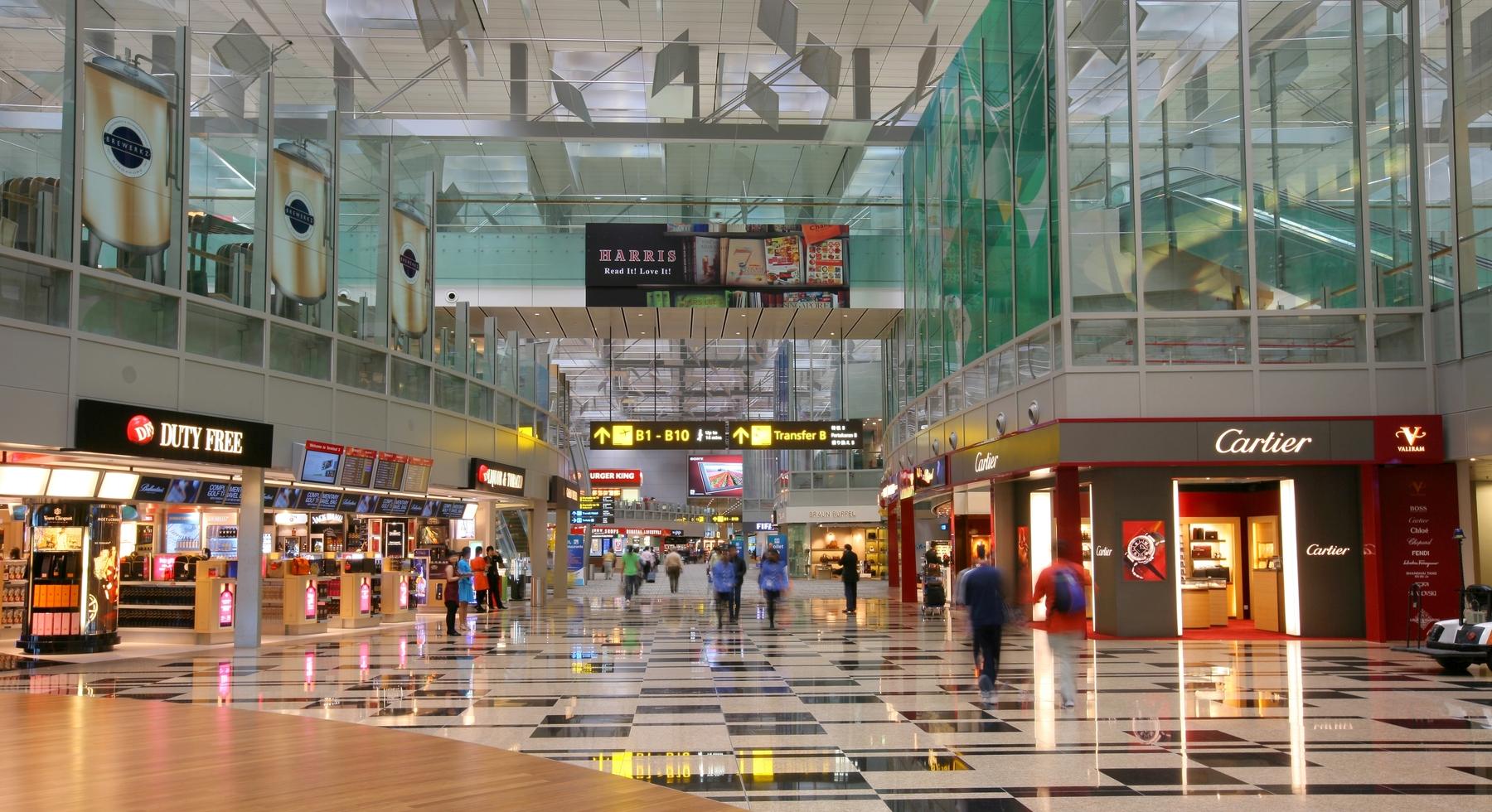 Дьюти-фри в аэропорту Сингапура