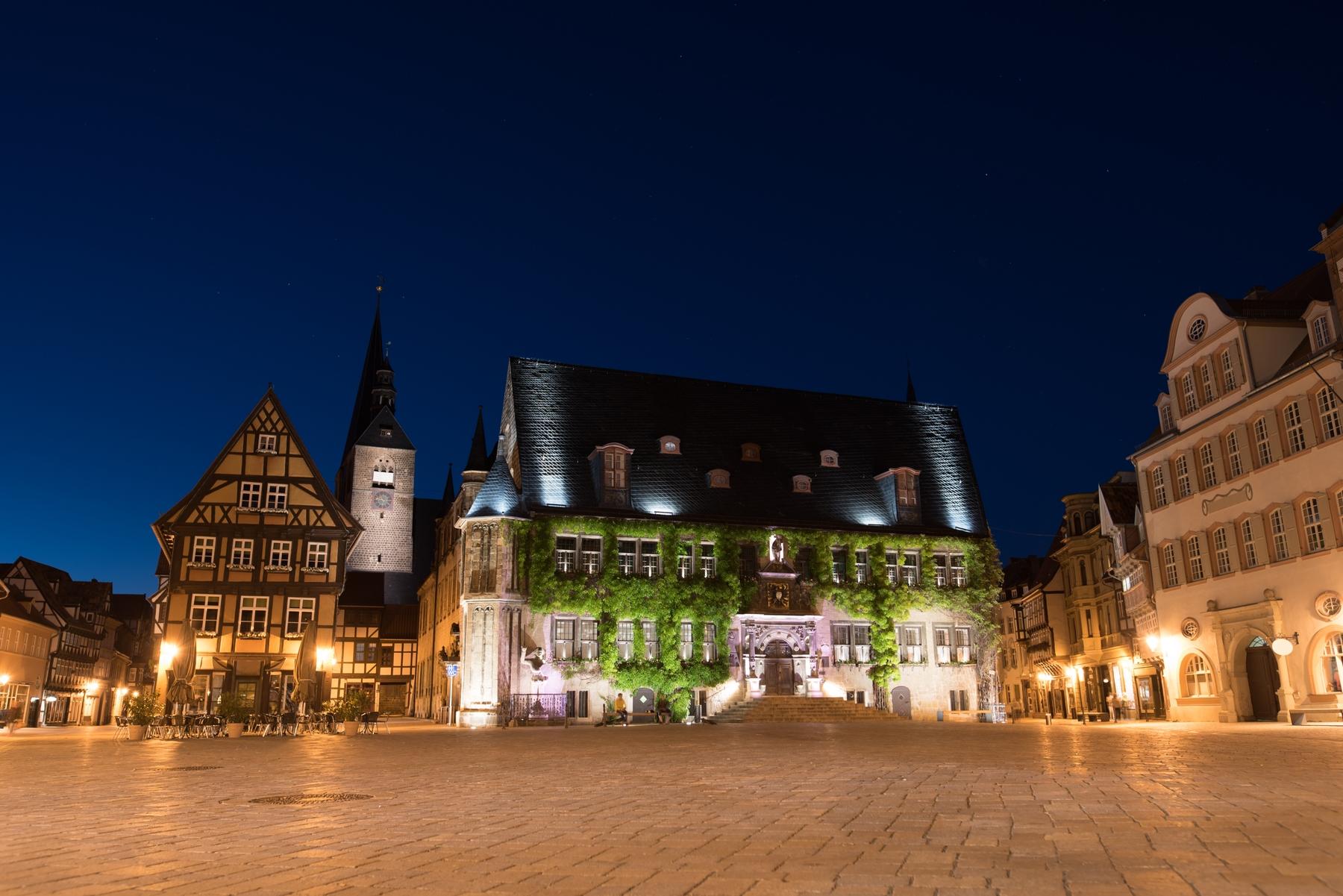 Немецкий город Кведлинбург