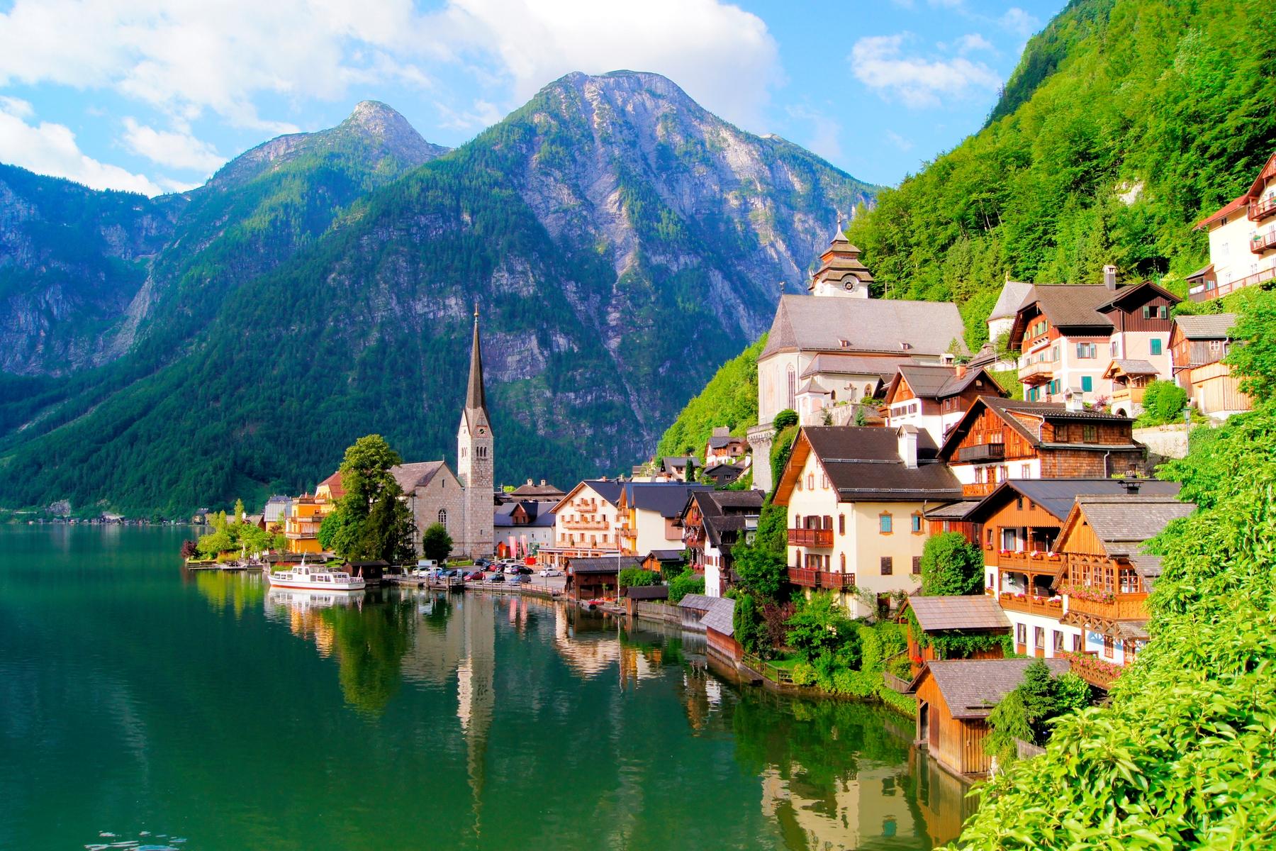 Die 10 schönsten Seen Österreichs: Hallstätter See