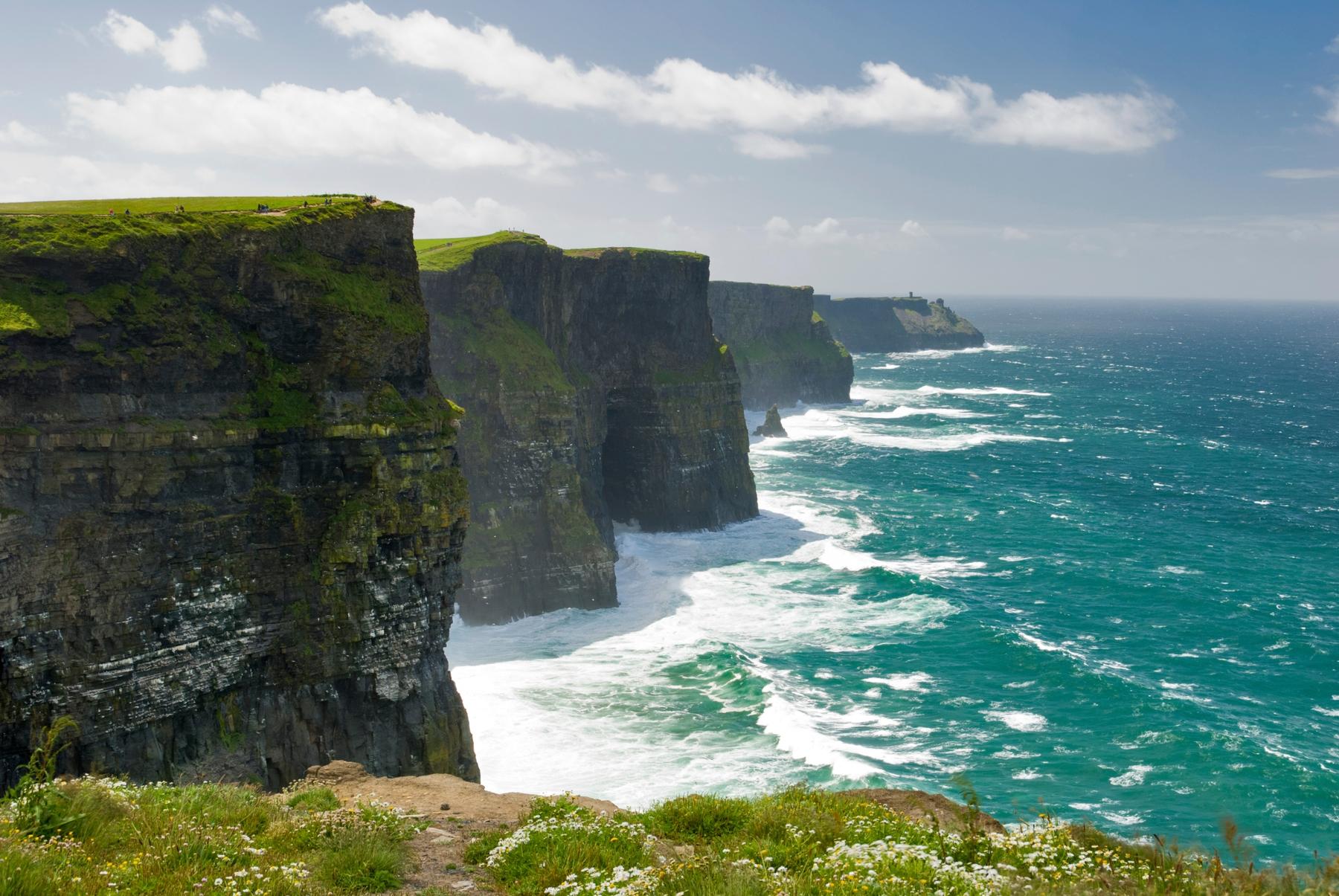 Cliffs of Moher in Irland auf der Bucket List