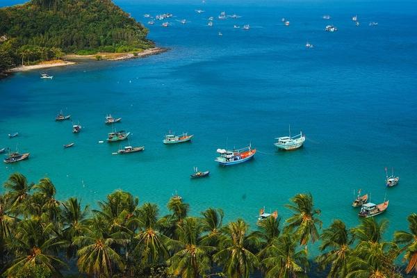 Πανοραμική θέα στο εξωτικό Που Κουόκ, Βιετνάμ - οι καλύτερες παραλίες για μπάνιο τον Δεκέμβριο