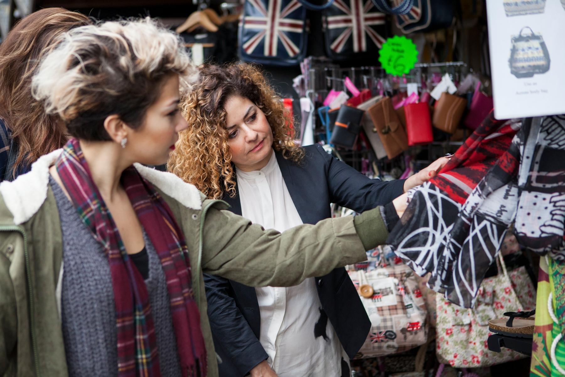 Alternatywne zakupy w Camden Market