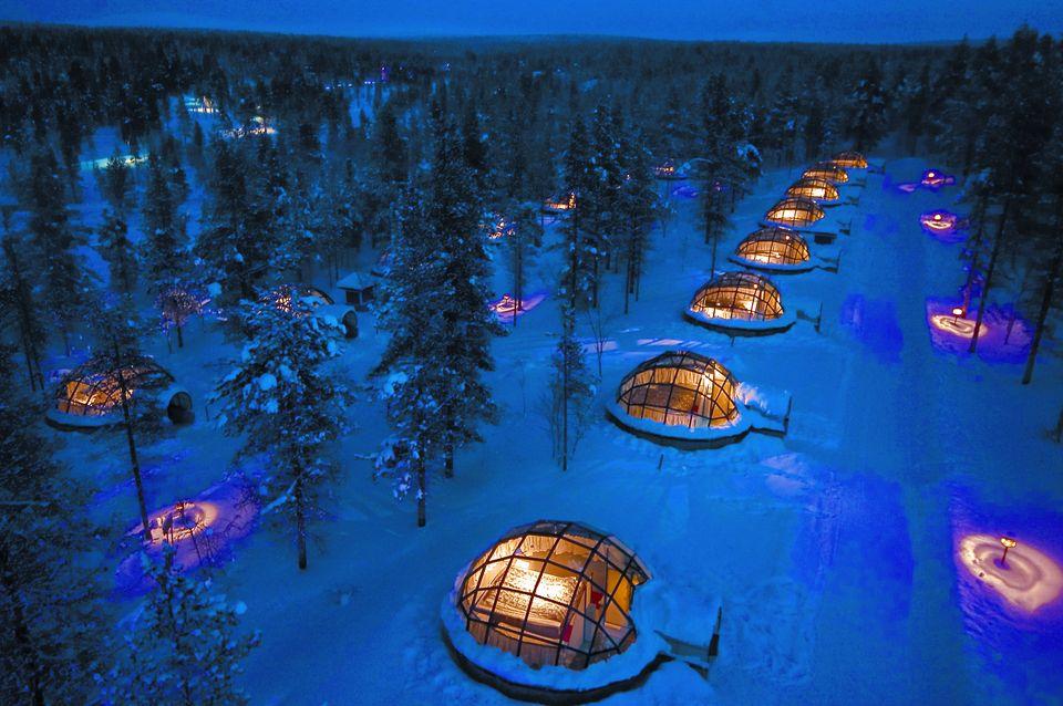 Kakslauttanen Ice Igloos Finland photo by Kaklsauttanen Arctic Resort