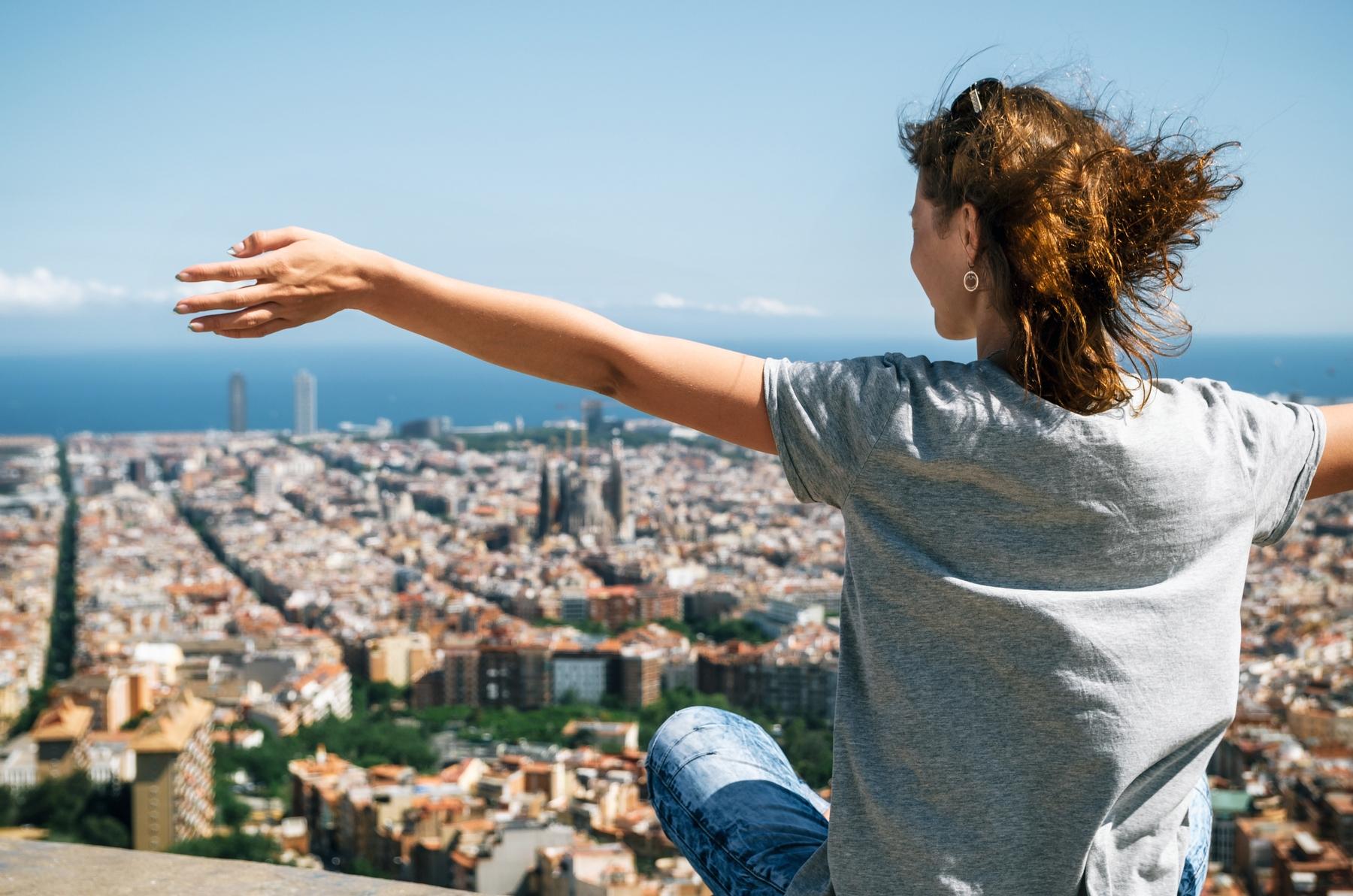 volare in Spagna