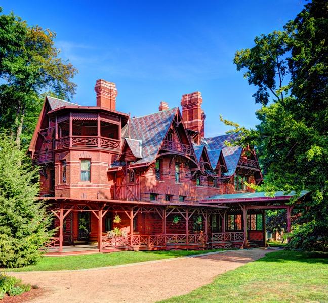 Mark Twain's house in Hartford, Connecticut