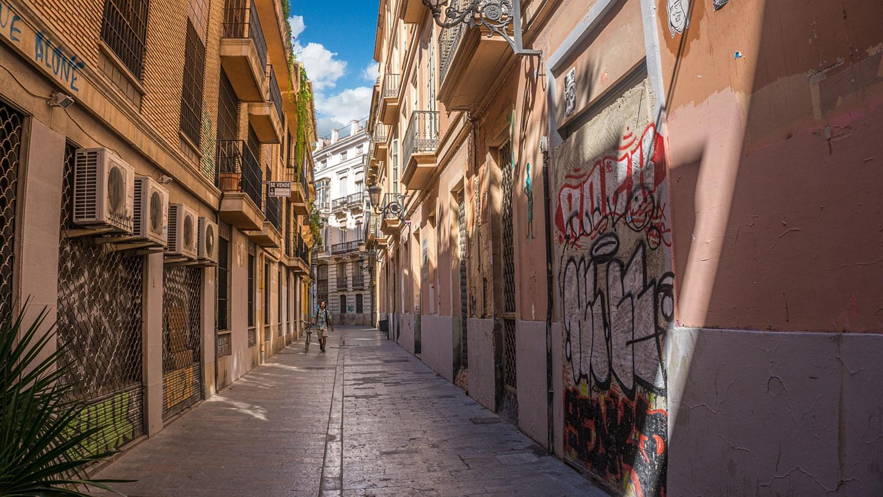 Barrio del Camen calles estrechas que ver en Valencia