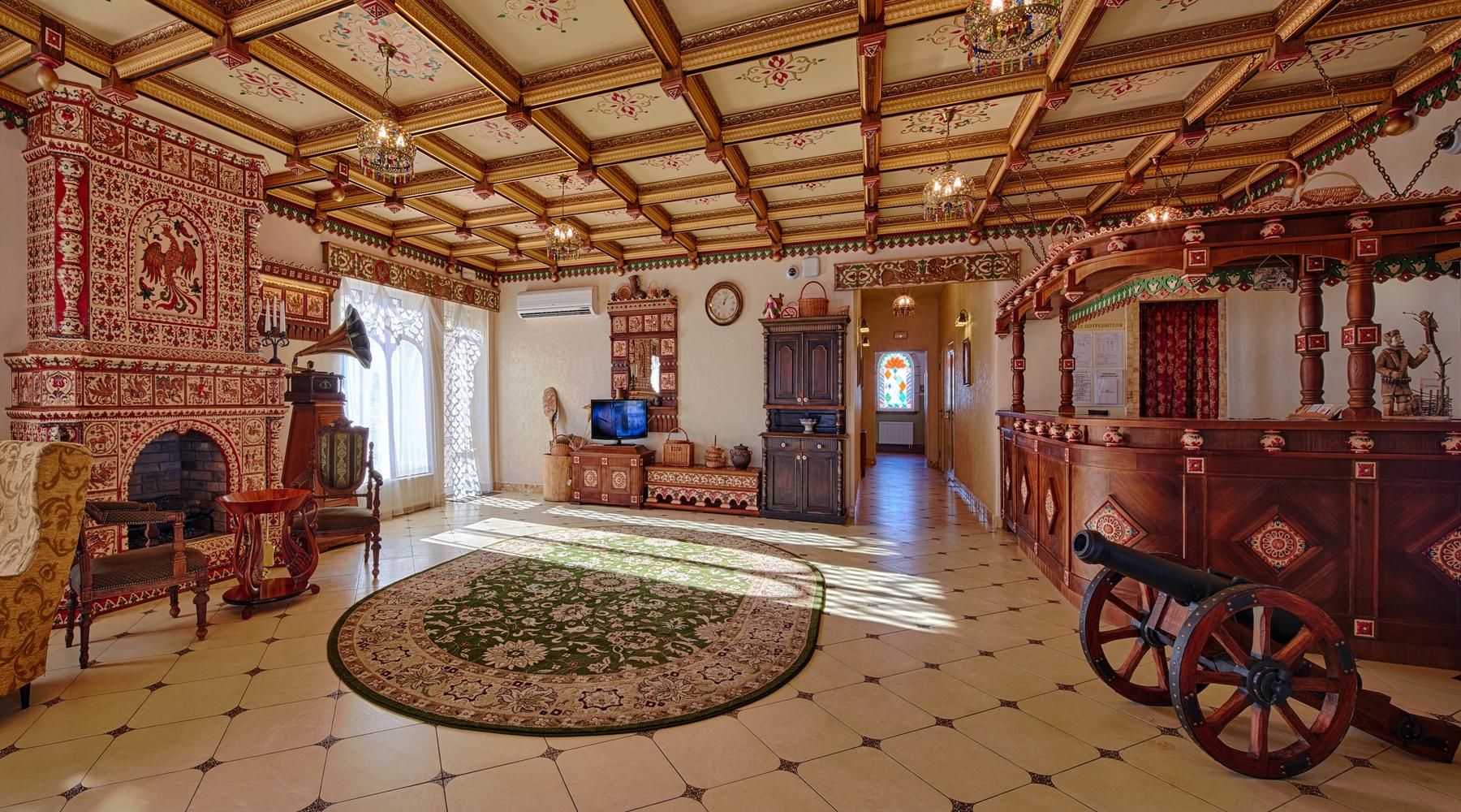 Уникальные гостиницы России — рязанский отель «В некотором царстве»